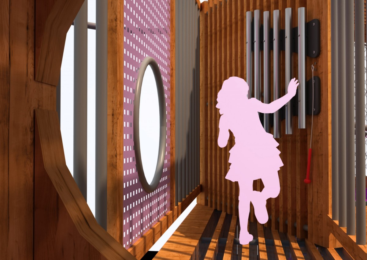 Детский игровой комплекс (с интерактивными элементами)