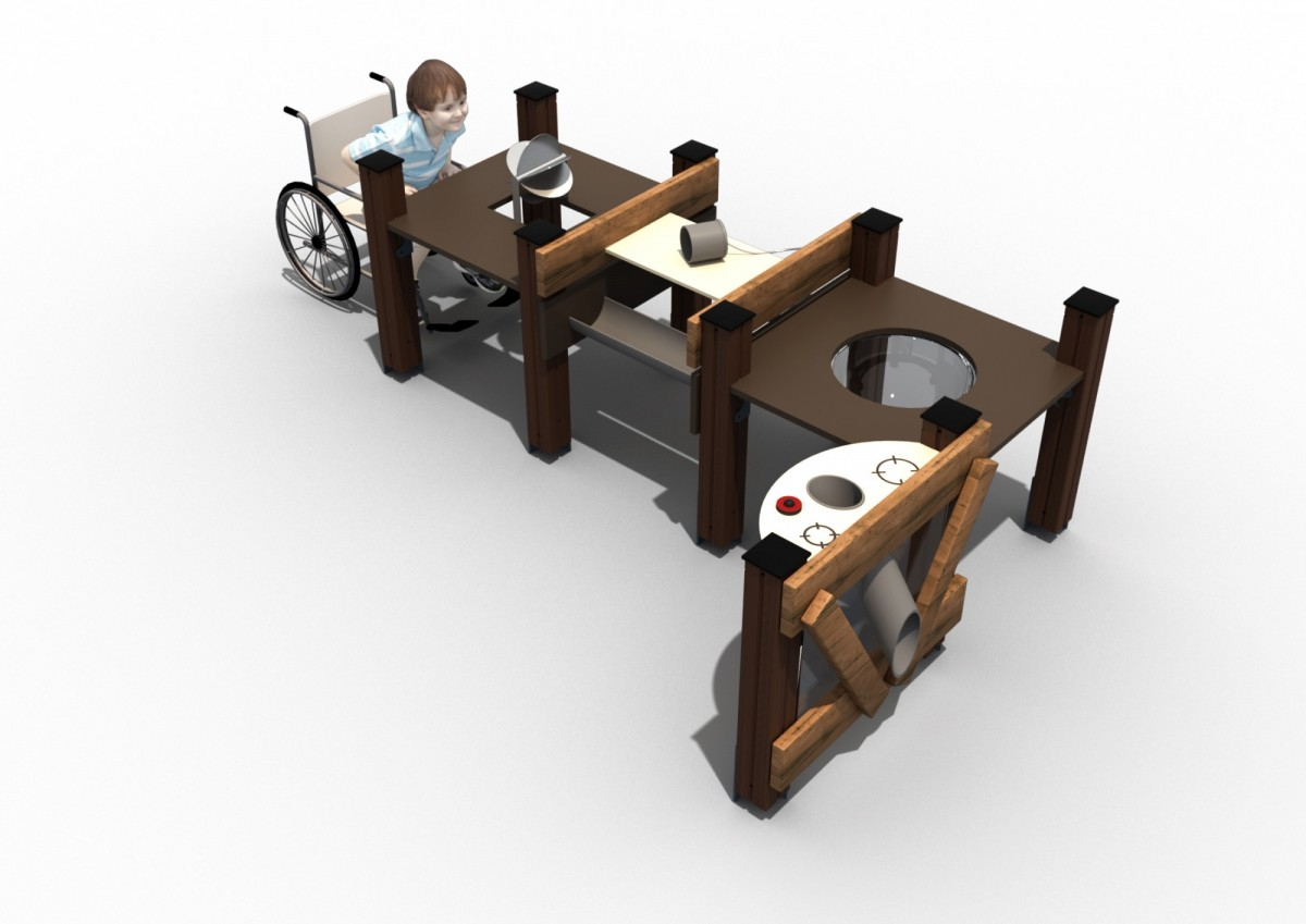 Оборудование для игры с песком